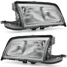 C-CLASS 1994-2000 Mercedes Benz W202 C220 C230 C280 Chrome Headlights OEM - Set