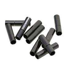 10 Sets 3mm Bayonet Push Clasps Leather Cord Ends Connectors Jewelry Making