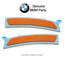 For BMW F32 F33 428i 435i xDrive Pair Set of 2 Front Reflector Yellow Genuine