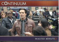 Continuum Season 3 Gold Parallel Base Card #87 Wasted Minute