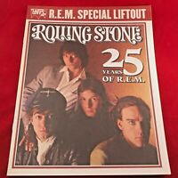 ROLLING STONE MAGAZINE - 25 Years of R.E.M - Special Liftout Sponsored by Levis!