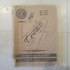 CZ Trial 125/175/250 Parts List. 1966.