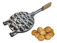 Form for baking Nuts Cookies Cookie Candies Metal Big Mantel Large Pan Nut Big