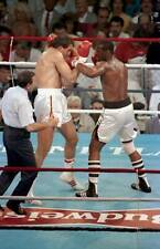 Old Boxing Photo Michael Spinks Lands A Left Jab Against Gerry Cooney 1