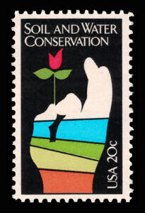 1984 Scott #2074 .20¢ SOIL AND WATER CONSERVATION - VF MNH OG Single