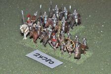 25mm roman era / roman - battle group 17 figures - cav (24780)