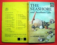 The Seashore And Life Ladybird vintage book sea nature gull jellyfish crab pool