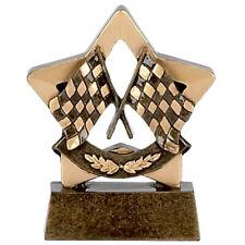 Racing Flags Mini Star Trophy *Free Engraving*