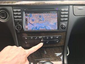 W211 elektrisches Geheimfach: Aktivierung bei Comand, Fremdradio, Android Radio