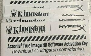 Kingston Acronis True Image HD Software OEM Activation Key(Kingston OEM Edition