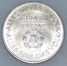 Rda 10 Mark 1974 25 Ans de RDA