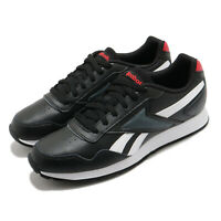 Reebok Royal Glide Black White Red Men Classic Casual Shoes Sneakers FW6707