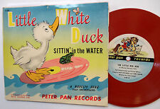 "Little White Duck 7"" PIC SLEEVE 78rpm 1952 PETER PAN Records 33 c1646"