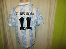 """TSV 1860 München Lotto Trikot 1994/95 """"Löwenbräu"""" + Nr.11 + Signiert Gr.M- L TOP"""
