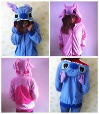 Kigurumi Lilo&Blue Stitch Warm Hoodie/Coat/Jumper/Hooded Angel Cosplay Costume