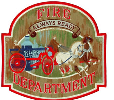 """Fire Fighter Always Ready 12"""" Patch"""