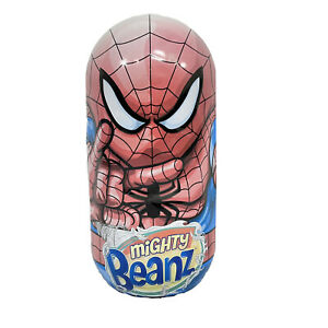 Mighty Beanz Tin Marvel Spiderman Holds 40 2010 Case With 85 Beanz