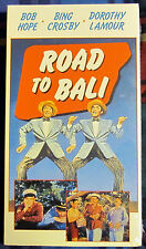Road To Bali (1952) - Hope/Crosby/Lamour - Buddy Comedy - FS VHS - Sealed/New