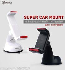 Baseus 360 Super Car Mount Mobile Holder Windshield Stand For Samsung Apple Etc.