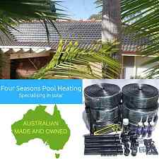 30M2 SOLAR ROOF KIT DIY SWIMMING POOL/SPA 12 TUBE SOLAR HEATING/HEATER BRAND NEW