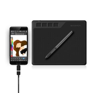 Drawing tablet graphic 6.5 x 4 inch pen support