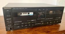 More details for technics rs-x101 twin cassette double tape deck hifi separate fully working rare