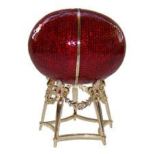 Copie Oeuf de la Poule Faberge, Oeuf boîte à secrets K. Fabergé Oeuf a la Poule