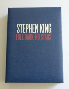 Stephen King Full Dark, No Stars Signed Limited Edition /750 Cemetery Dance