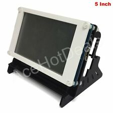 "5"" TFT LCD 800x480 HDMI Resistive Touch LCD + Case for Raspberry Pi 2/3 Model B"