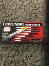 NEW Forever Sharp Classic Series 12 Pc Set Stainless Steel Knives&Bonus Knife!