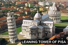SOUVENIR FRIDGE MAGNET of THE LEANING TOWER OF PISA ITALY