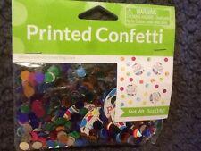 Creative Converting - Polka Dots Bright and Bold Happy Birthday Printed Confetti