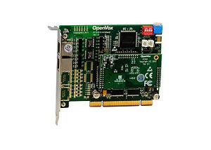 OpenVox DE210P 2 Port T1/E1/J1 PRI PCI card + EC100-64 module