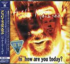 Ashley MacIsaac - Hi How Are You Today ? Japan CD - NEW