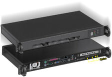 "1U (Mini ITX Case)(D:9.84"")(2x2.5"" or 3.5"" HDD)(2x4cm Fan)(Rackmount Chassis)NEW"
