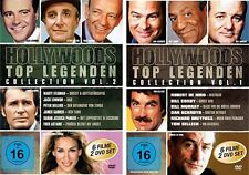 Hollywoods Top Legenden - 2 DVD Boxen NEU 12 Film Klassiker Collection Vol 1 + 2