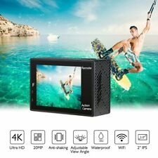 Akaso Waterproof Ultra Sport Action Camera Camcorder 4K DVR Full HD 1080P Wifi