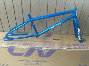 Vtg Old School Bmx 1983 JMC Shadow Frame & Fork Candy Blue