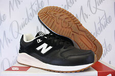 NEW BALANCE 530 SZ 8 BLACK OFF WHITE GUM BEIGE M530ATB