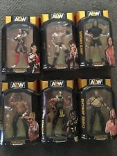 New AEW Unrivaled Series 6 Set Complete Chris Jericho MJF Rey Fencing Jake Hager