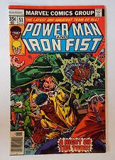 Marvel Comics POWER MAN And IRON FIST #51Higher Grade!!
