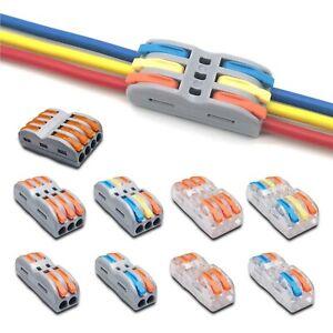 Reusable SPL-2 SPL-3 Line Electrical Connectors Wire Clamp Cable Terminal Block