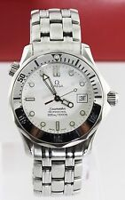 OMEGA SEAMASTER 2562.20 BOND WHITE DIVER QUARTZ PROFESSIONAL MIDSIZE MENS WATCH
