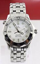 omega seamaster 2562.20 bond weiß diver quartz professional mittel große herrenuhr