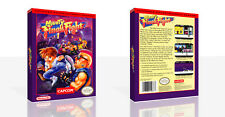 Mighty Final Fight NES Replacement Game Case Box + Cover Art Work (No Game)