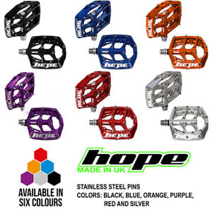 Hope F20 Flat Platform MTB Enduro DH Pedals  - All Colors and Options - New
