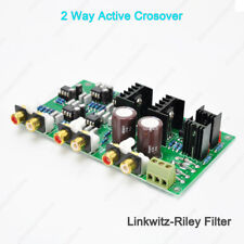 2 Way Active Crossover -24dB/Oct Linkwitz-Riley XOVER Frequency Dividing Network