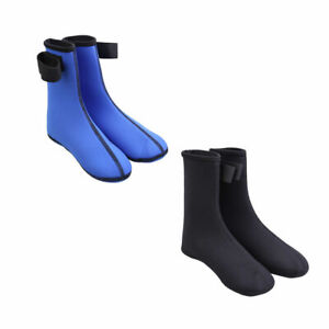 2pz Calzini Diving Scuba in Neoprene Surf Calze Kayak Acqua Stivali Blu S - XL