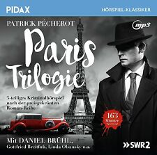 Patrick Pécherot - Paris Trilogie - CD Kriminalhörspiel MP3-CD Pidax Neu Ovp