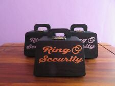 Ring Security Box, Page Boy, Wedding Ring Box, Ring Bearer,with cushion inside